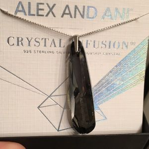 Alex and Ani crystal infusion necklace